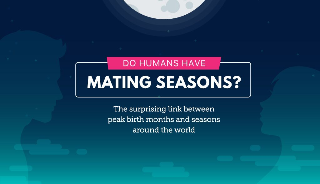 do humans have mating seasons? the surprising link between peak birth months latitude and seasons around the world