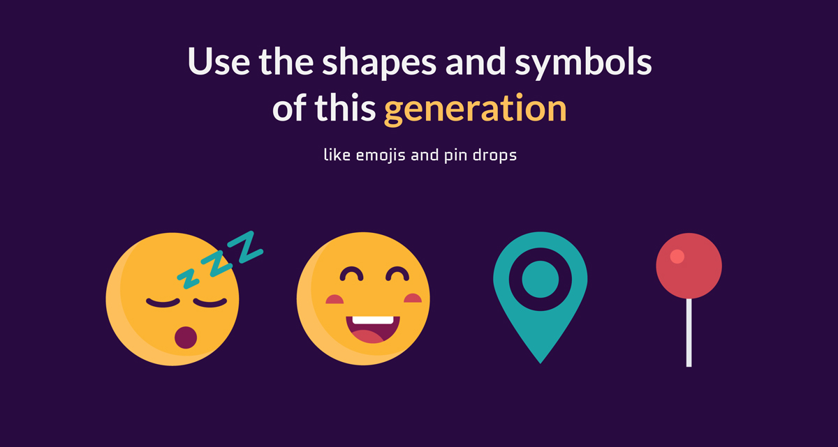 use the shapes and symbols of this generation How-to-Creatively-Use-Shapesto-Make-Your-Designs-Stand-Out-geometric meanings