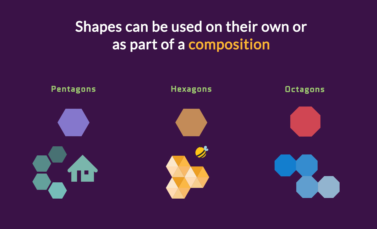 Shapes-can-be-used-on-their-own-or-as-part-of-a-composition How-to-Creatively-Use-Shapes to-Make-Your-Designs-Stand-Out-geometric meanings