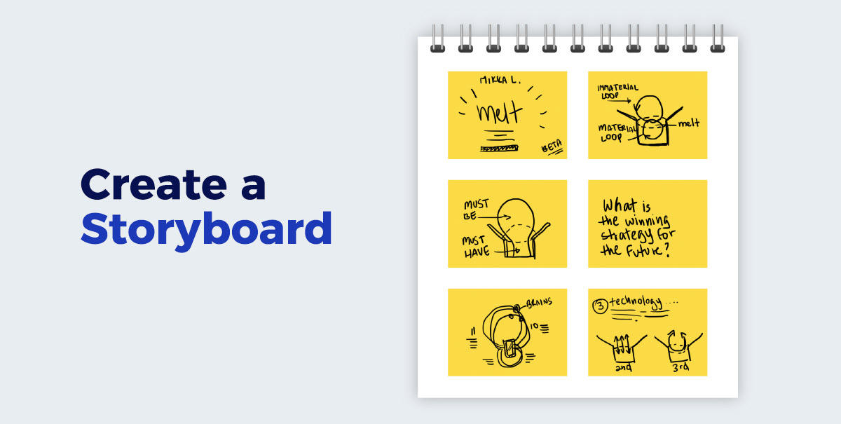 Create-a-Storyboard presentation design A Non-Designer's Guide to Creating Visually Captivating Presentations