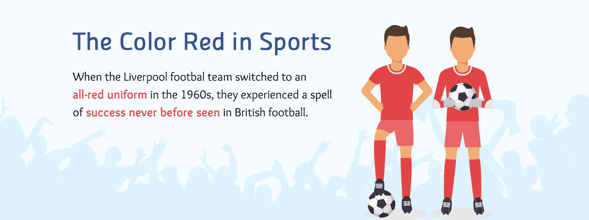 the color red in sports color meanings Real-life Examples of How Color Affects Our Perceptions of Reality