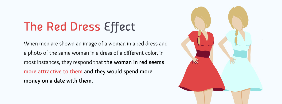 the red dress effect color meanings Real-life Examples of How Color Affects Our Perceptions of Reality