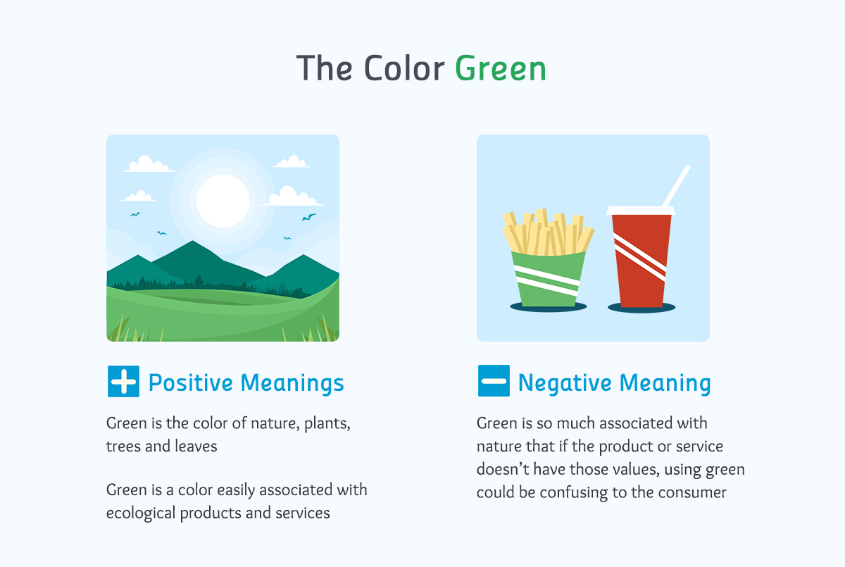 the color green color meanings Real-life Examples of How Color Affects Our Perceptions of Reality