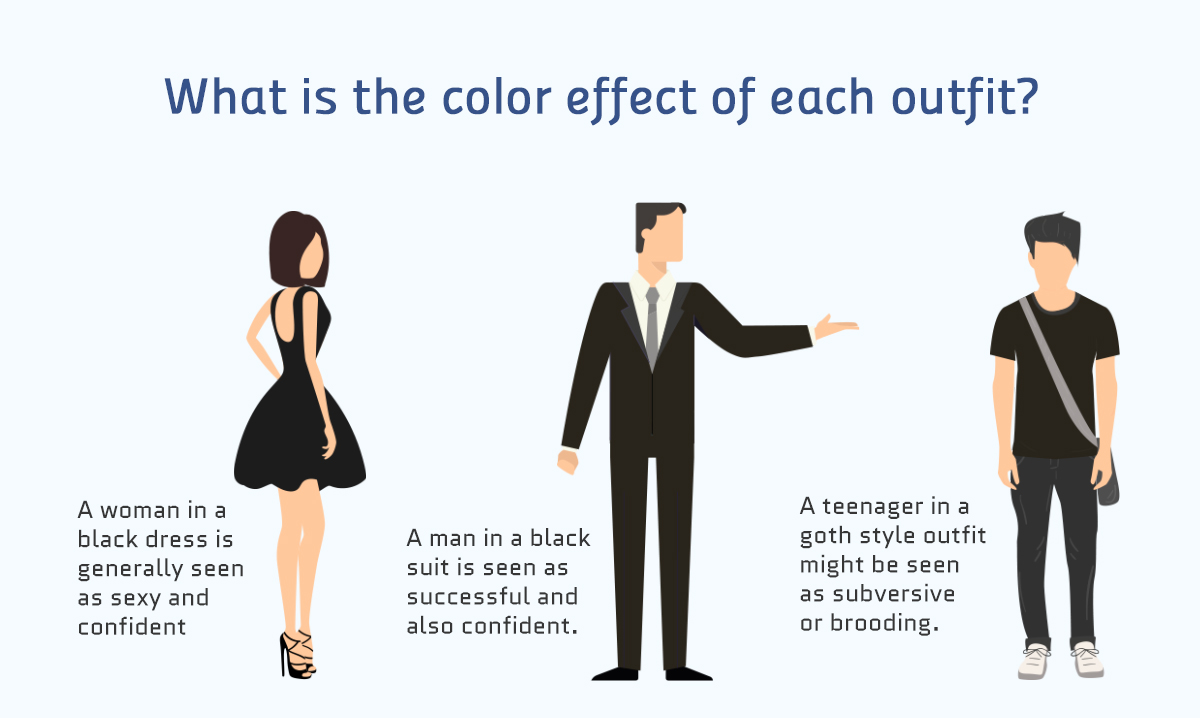 what is the color effect of each outfit color meanings Real-life Examples of How Color Affects Our Perceptions of Reality