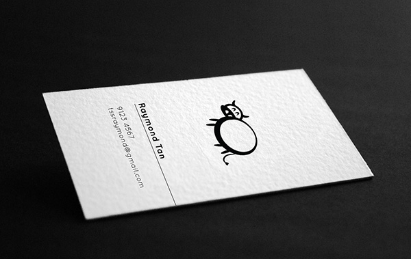10+-Examples-of-Minimalist-Design-to-Inspire-Your-Own-Creations-Examples of minimalist business cards-Raymond-Tan-2