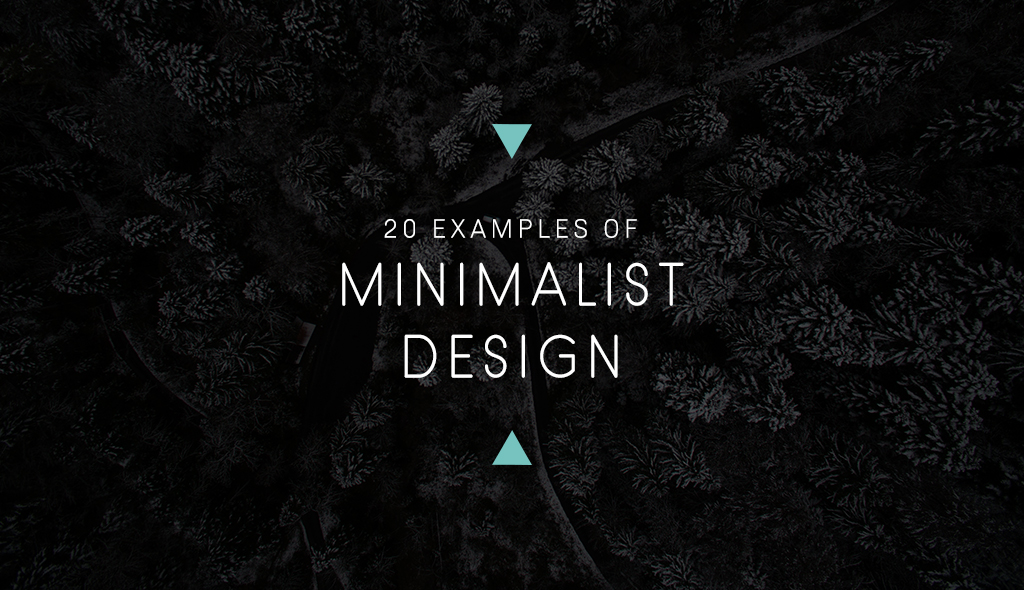 examples of minimalist graphic design