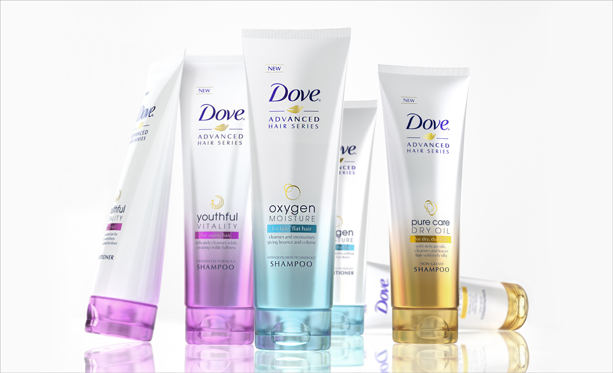Dove-Products feminine masculine gender neutral design