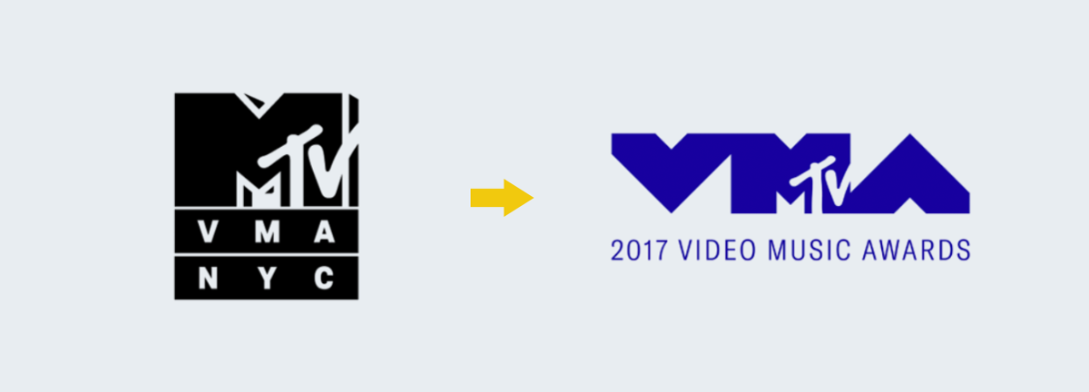 mtv logo progression Rebranding Strategy