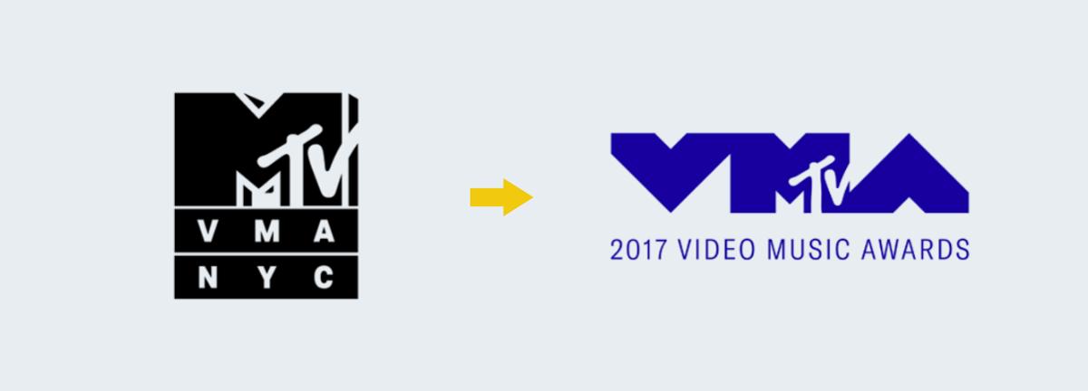mtv logo progression Rebranding Strategy