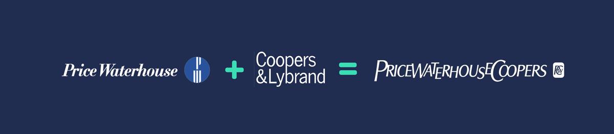 price waterhouse + coopers & lybrand = pricewaterhousecoopers Rebranding Strategy