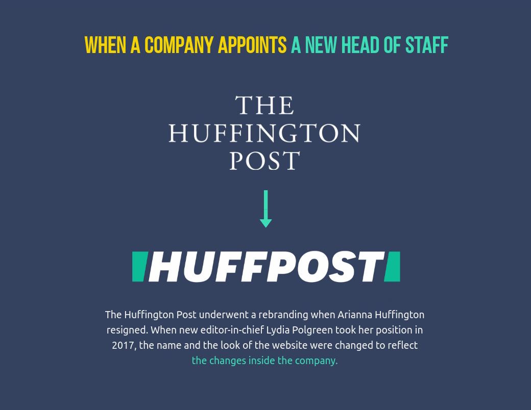 the huffington post rebranding strategy