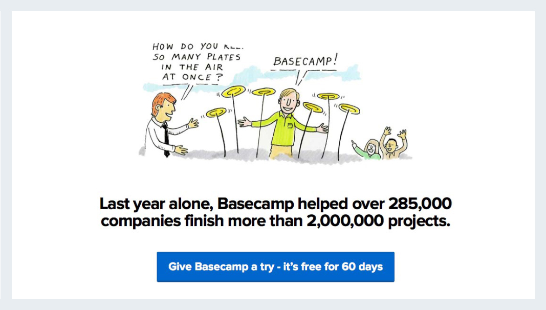 How to Gain Instant Credibility with Visual Social Proof basecamp