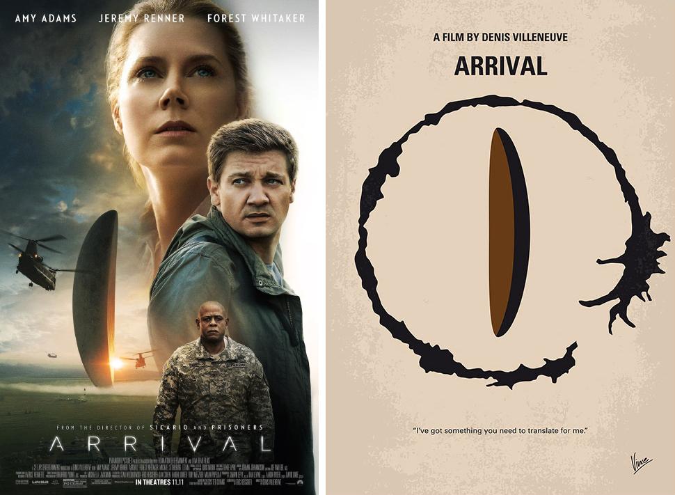 arrival minimalist movie posters
