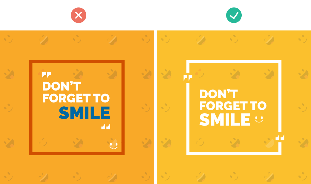 how to add text to images quick tips for creating social media graphics balance elements