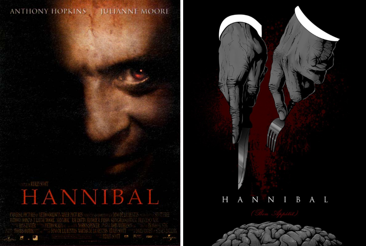 hannibal minimalist movie posters