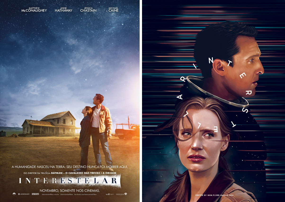Redesigned-Movie-Posters-to-Inspire-your-Creativity-Interestellar