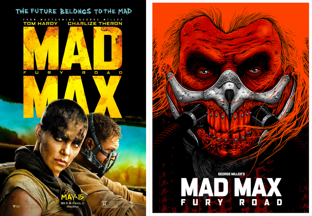 mad max minimalist movie posters