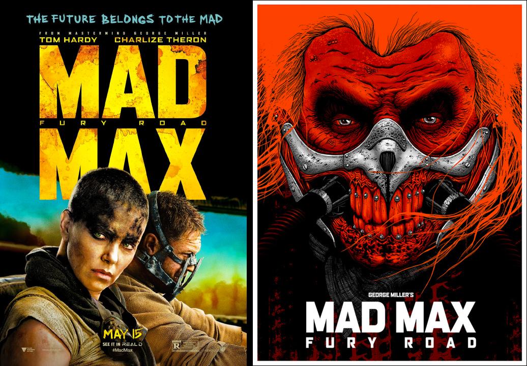 mad max minimalist movie posters