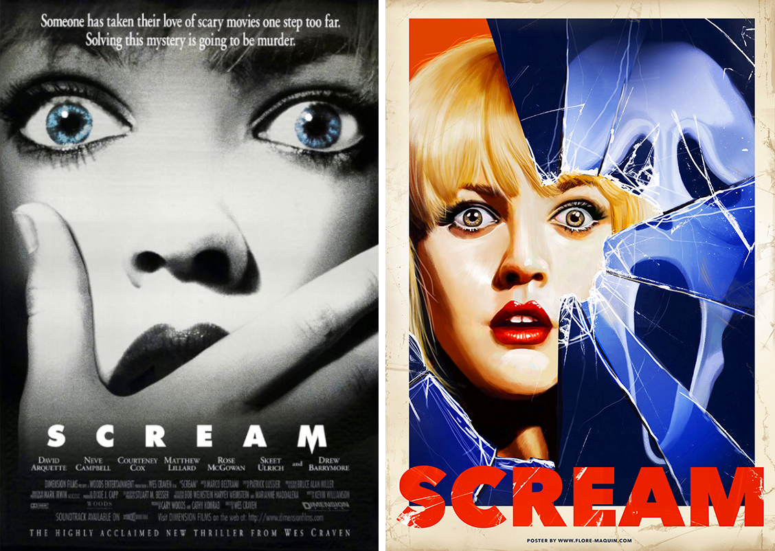 Redesigned-Movie-Posters-to-Inspire-your-Creativity-The-Scream