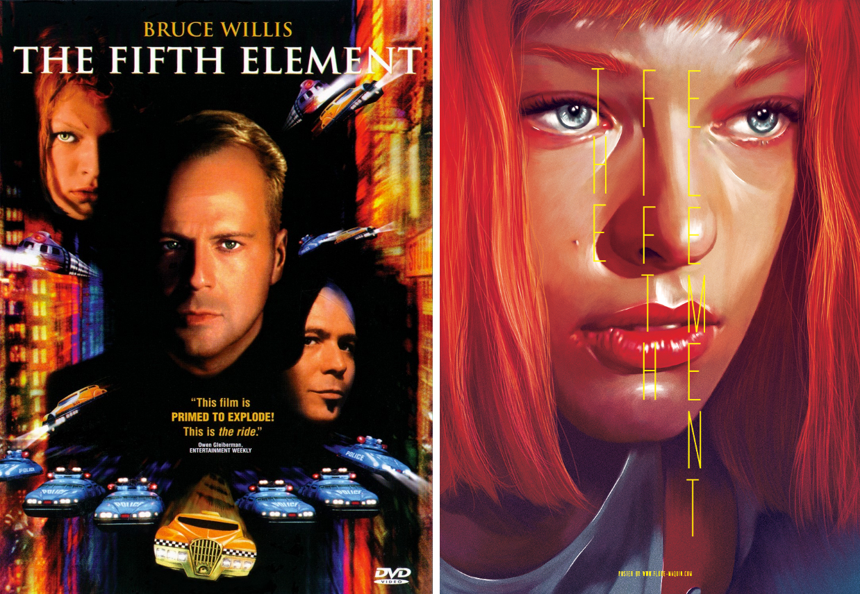 the fifth element minimalist movie posters