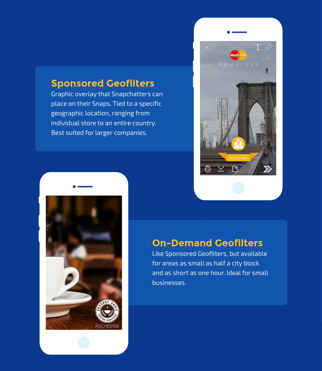snapchat sponsored geofilters on-demand geofilters