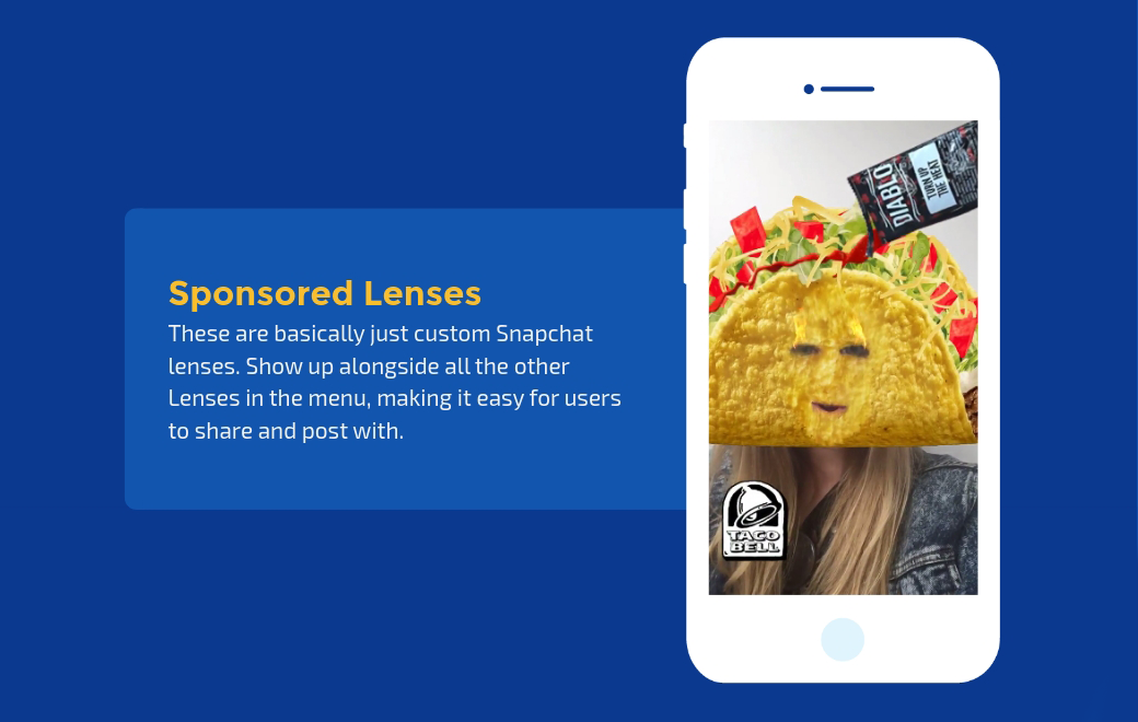 snapchat sponsored lenses