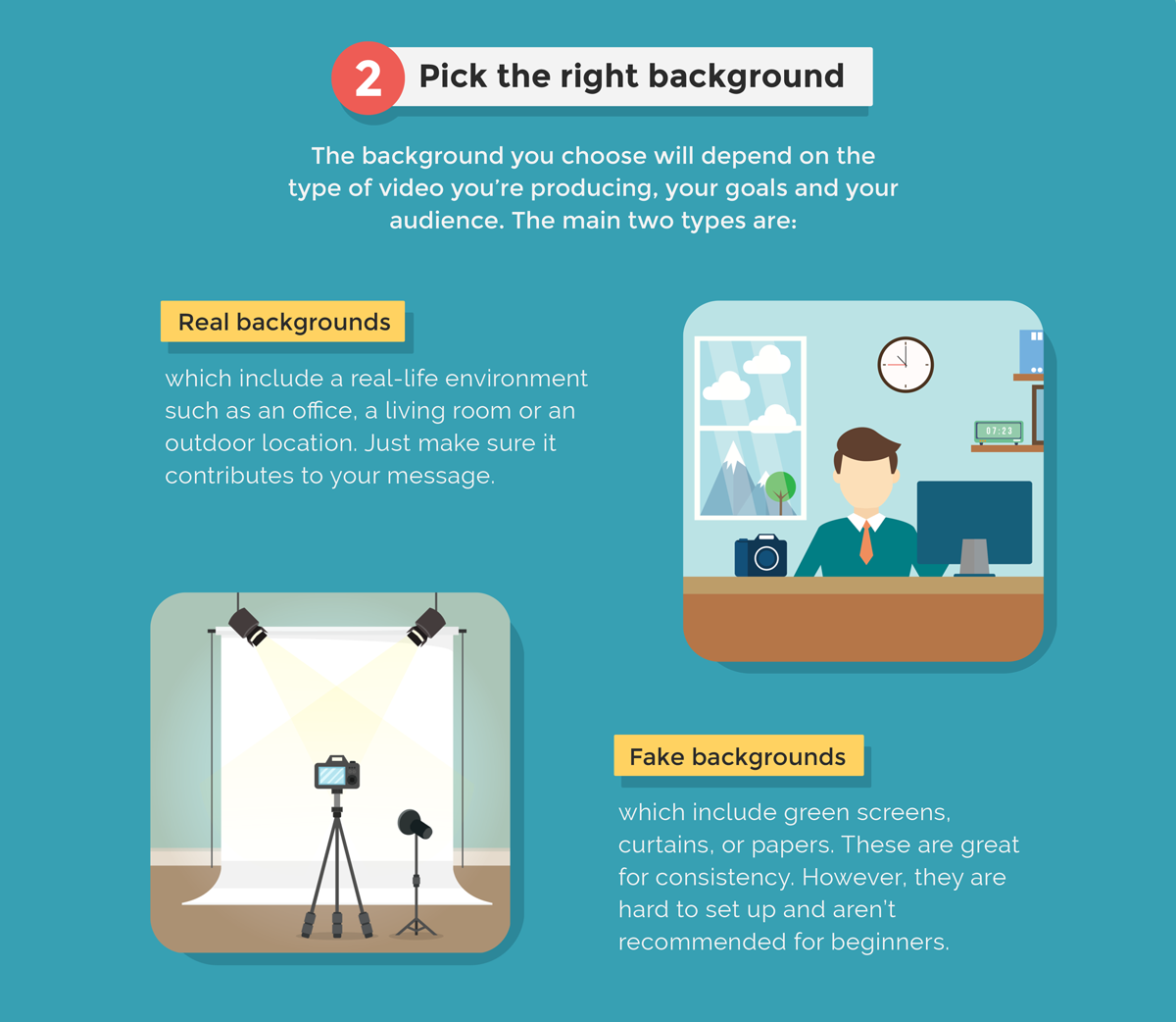 8 Beginner Video Tips for Making Professional-Looking Videos