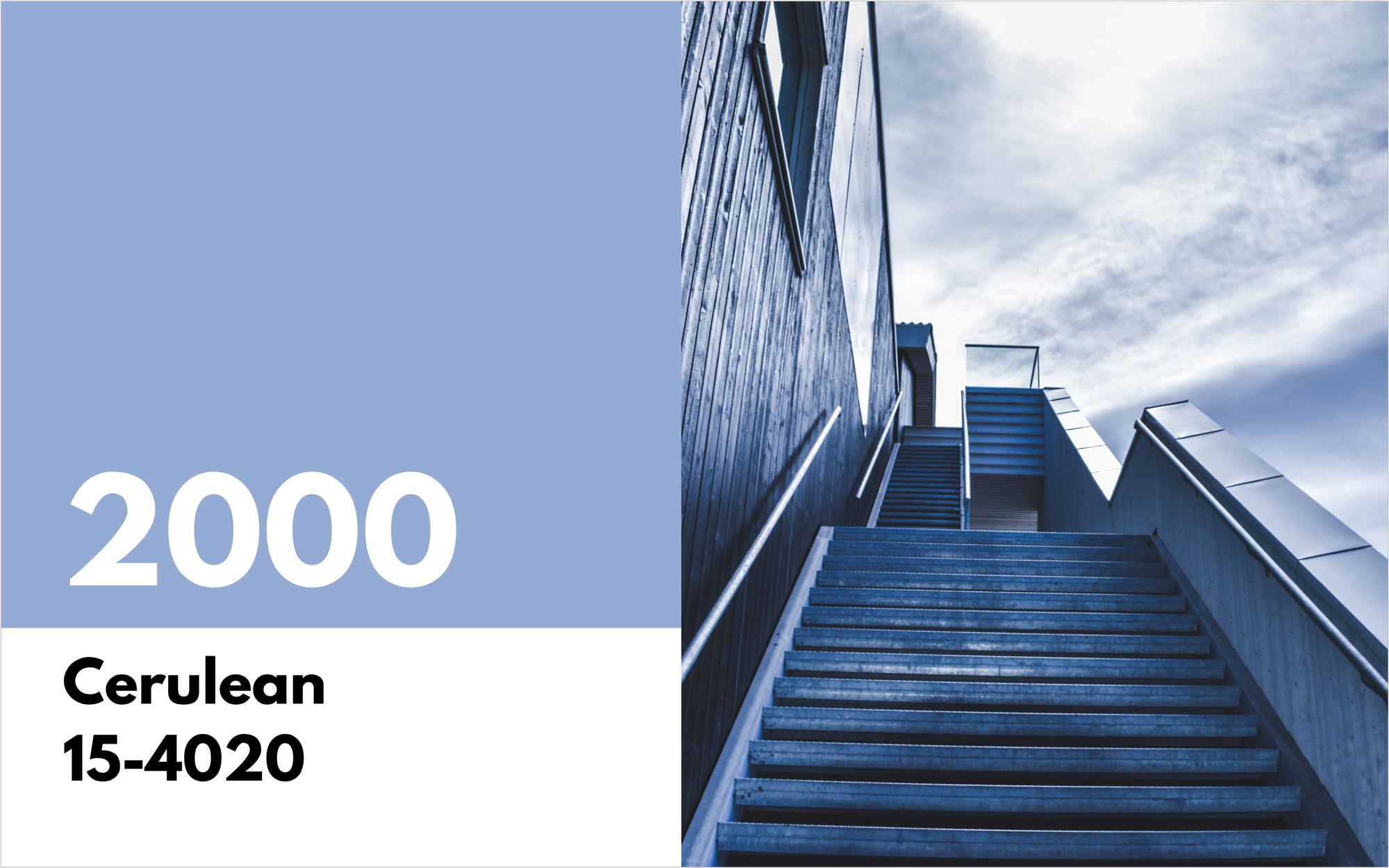 pantone color of the year 2000 cerulean