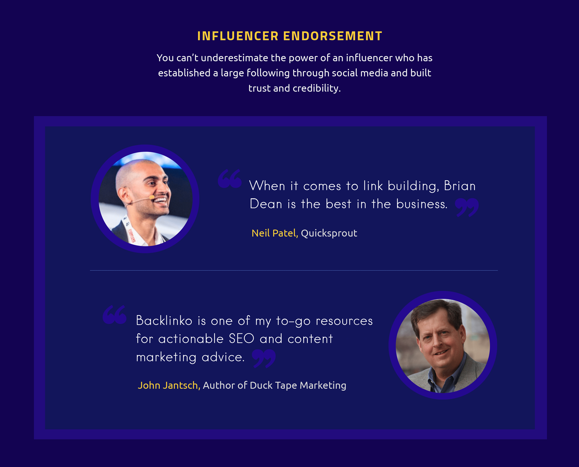 How to Gain Instant Credibility with Visual Social Proof influencer endorsement