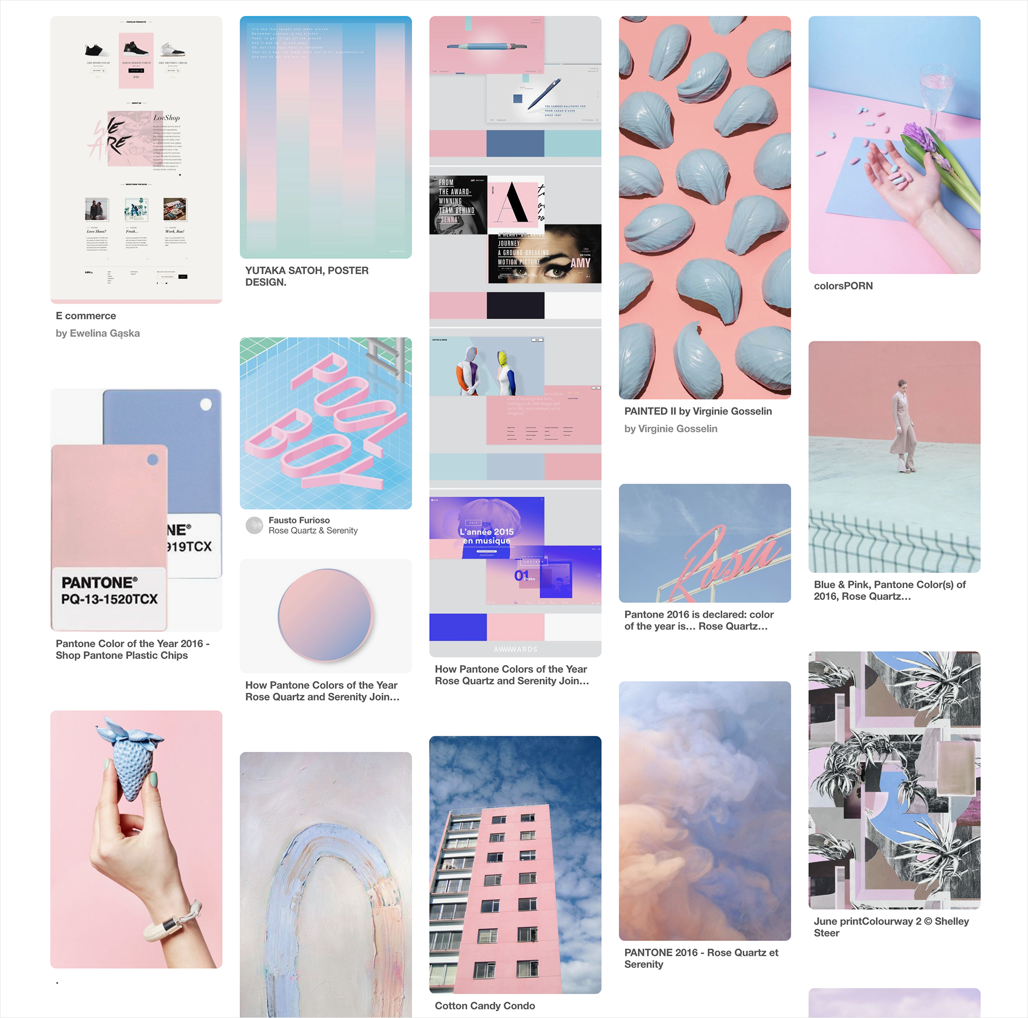 pantone color of the year rose quartz and serenity