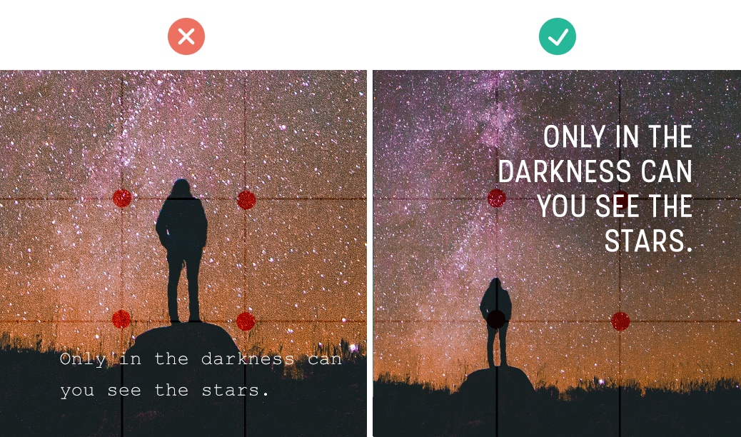how to add text to images quick tips for creating social media graphics composition
