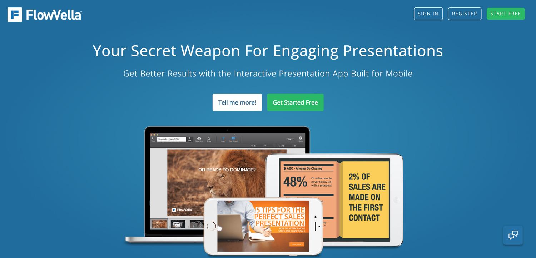 flowvella presentation software presentation tool