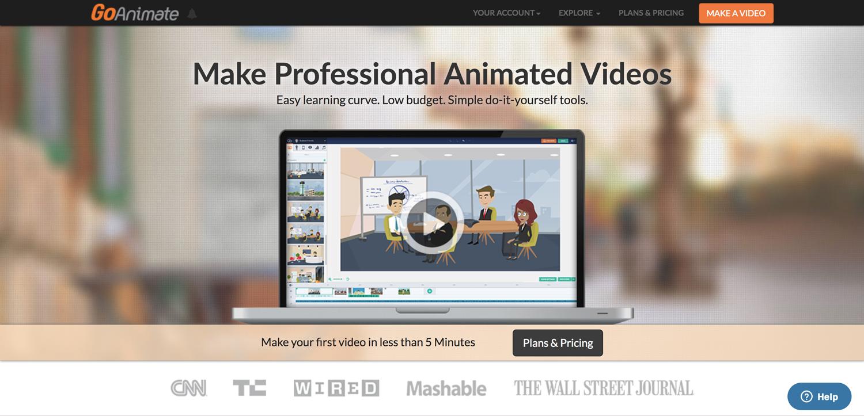 Goanimate presentation software presentation tool
