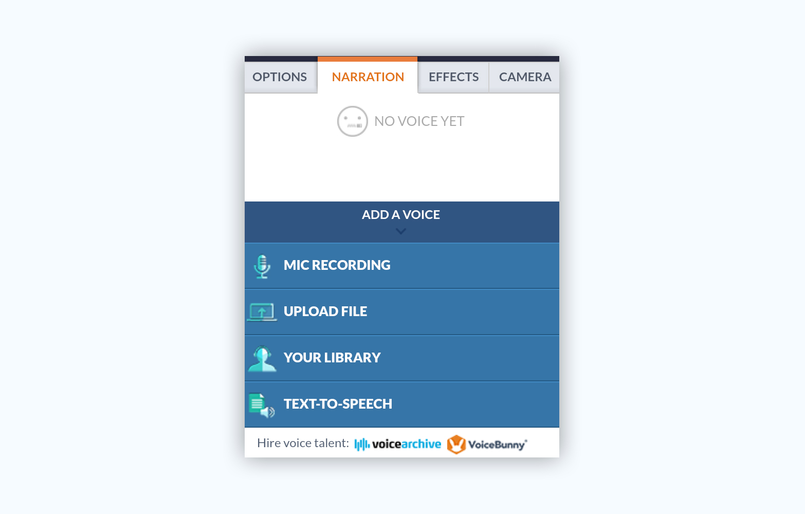 Goanimate presentation software presentation tool narration voiceovers