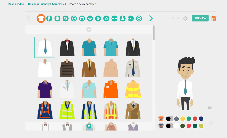 Goanimate presentation software presentation tool characters