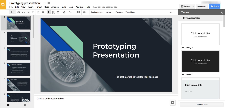 google slides presentation software presentation tool editor