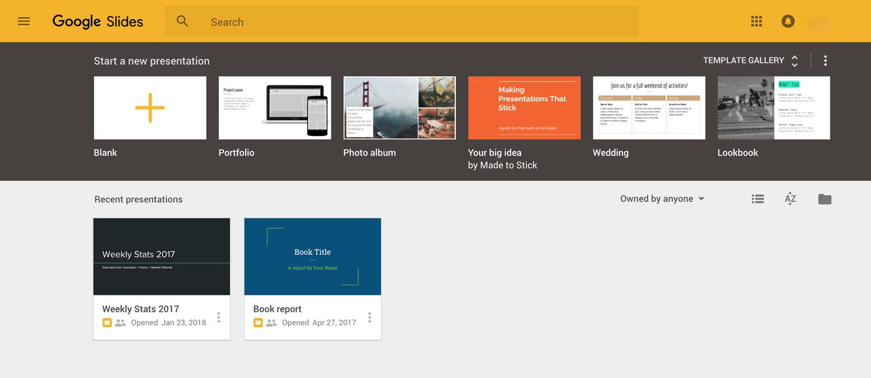 google slides presentation software presentation tool