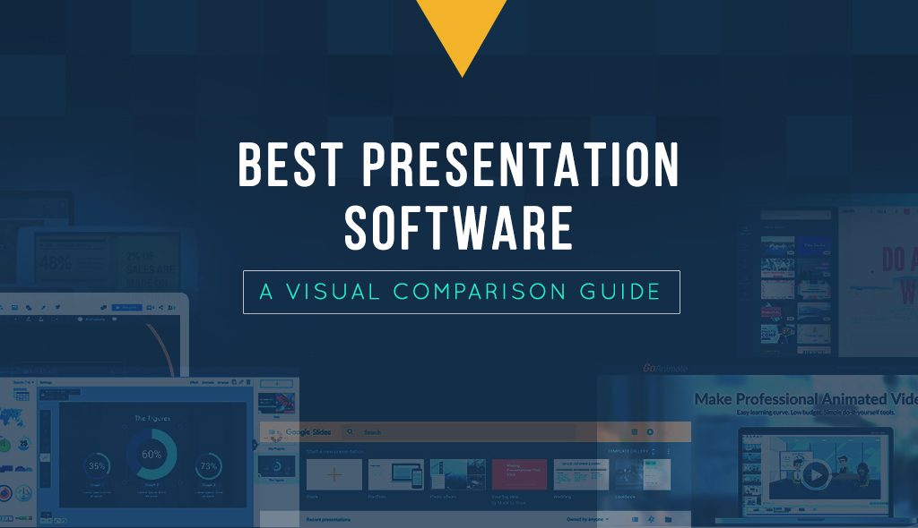 best presentation software comparison infographic