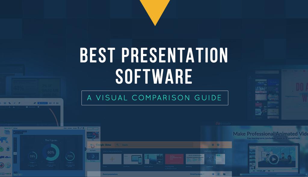 best presentation software comparison infographic