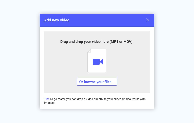 ludus presentation software presentation tool upload video