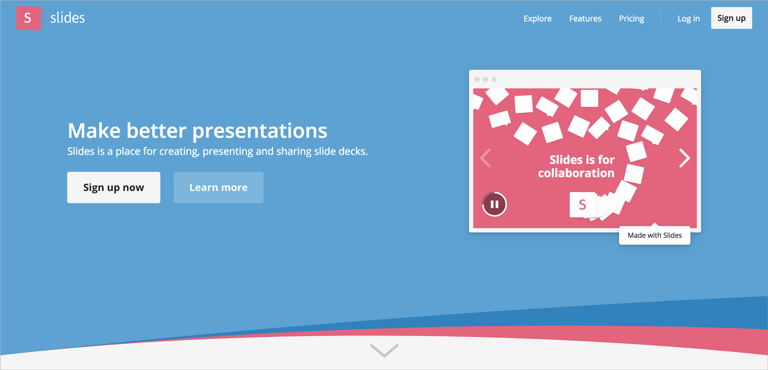 slides presentation software presentation tool