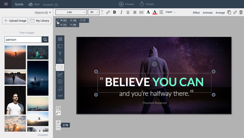 Best-Presentation-Software-A-Visual-Comparison-Guide-Visme-Interface