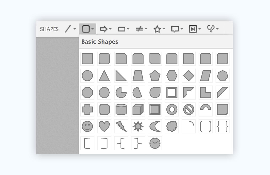 zoho show presentation software presentation tool graphic assets