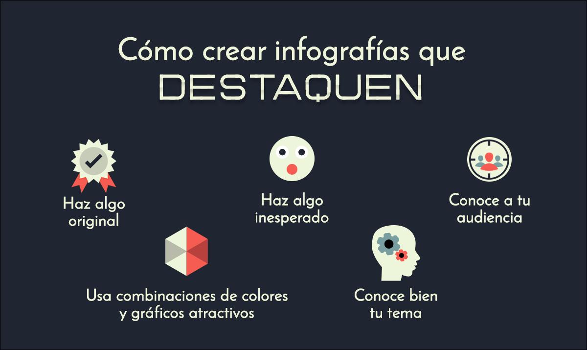 como crear infografias que destaquen