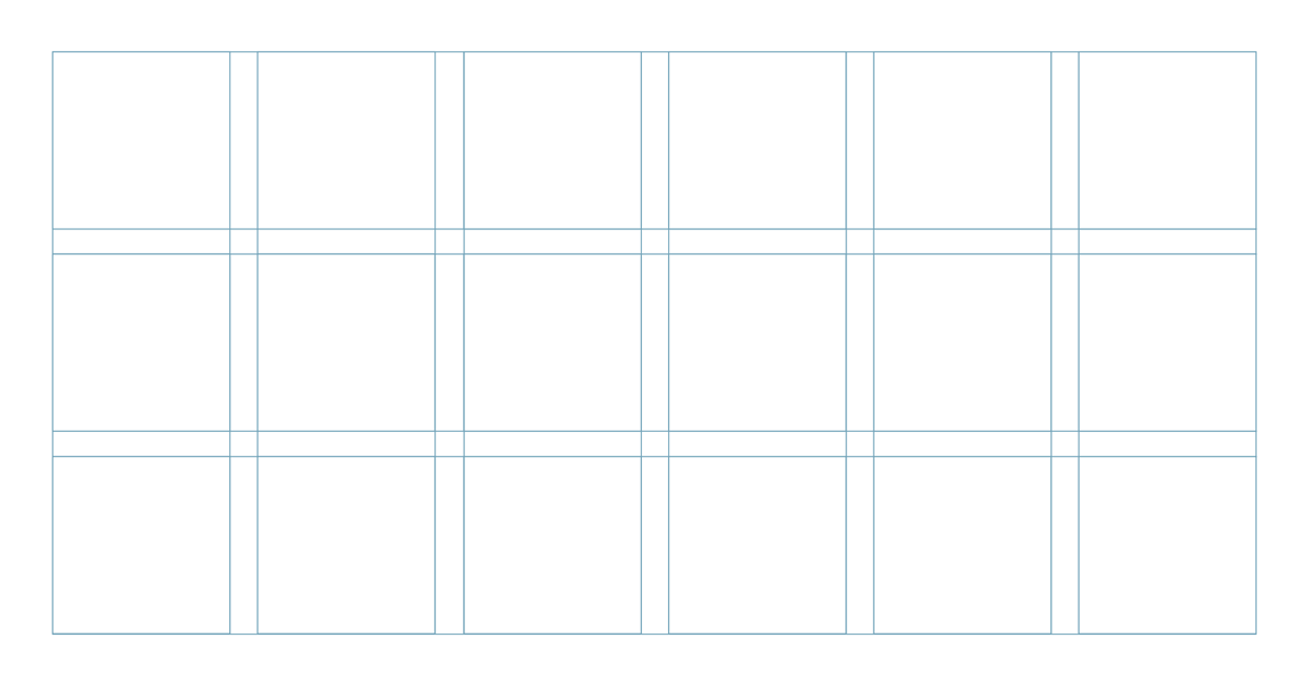 format layout design types of grids grid design grid system