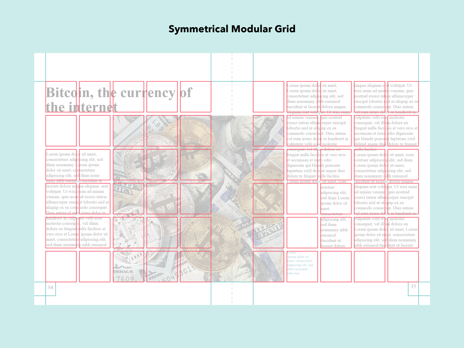 modular grid layout design types of grids grid design grid system