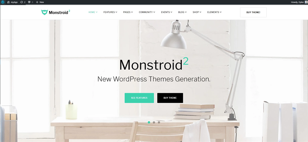 wordpress monstroid2 theme how to design a website wordpress tutorial how to install a wordpress theme in 20 steps