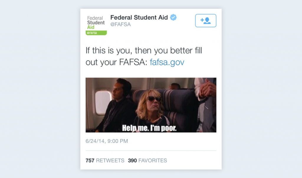 fafsa help me im poor meme How to Choose the Best Memes for Social Media Marketing