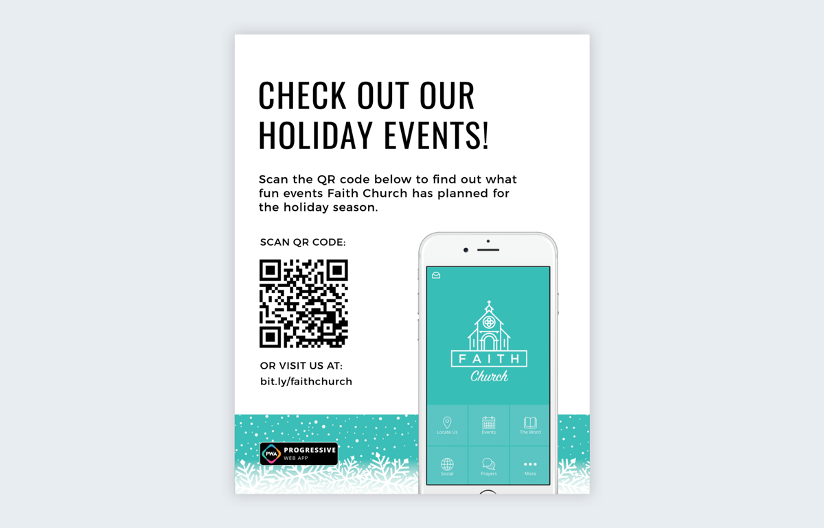 flyer design qr code how to make a flyer even if you're not a designer