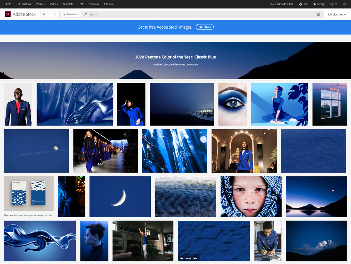 pantone-color-of-the-year-2020-Classic-Blue-adobe-stock-photos